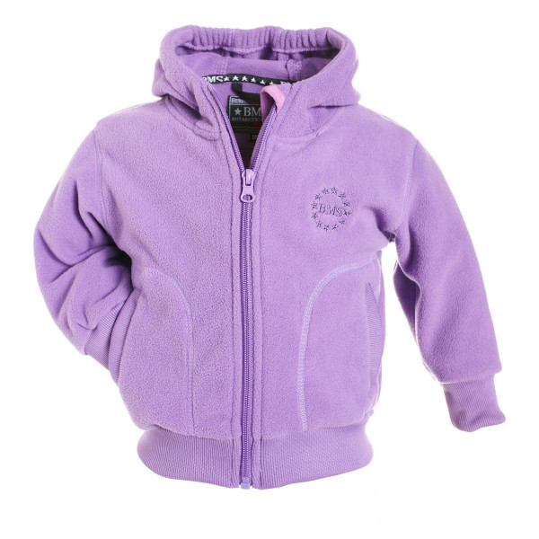 BMS Kinder Antarctic Clima-Fleece College Kids Jacke Flieder