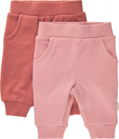 Minymo Kinder Sweat Pants (2er Pack) Canyon Rose