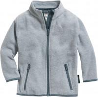 Playshoes Kinder Fleece-Jacke Grau/Melange