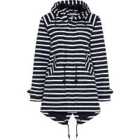 BMS Hafencity Coat Softlan/Lining Marine/Weiß