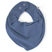 Pippi Babywear Kinder Lätzchen Bandana Bib Absorbent Dark Blue