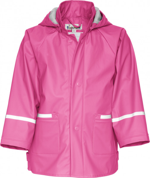 Playshoes Kinder Regenjacke Basic pink