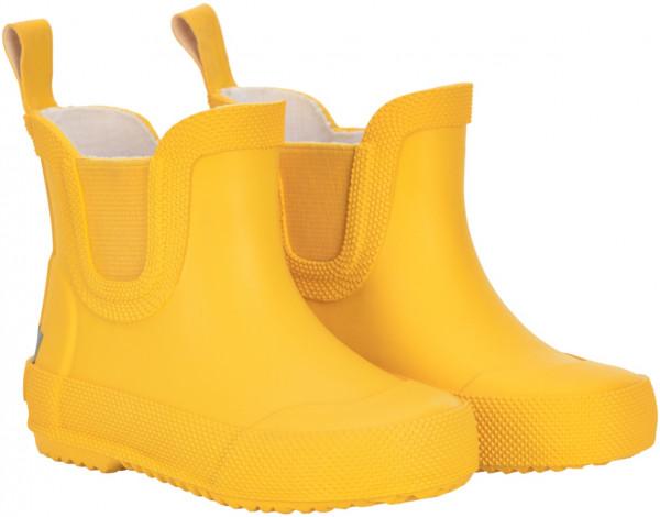 Celavi Kinder Gummistiefel kurz Basic Wellies Short Solid Mineral Yellow