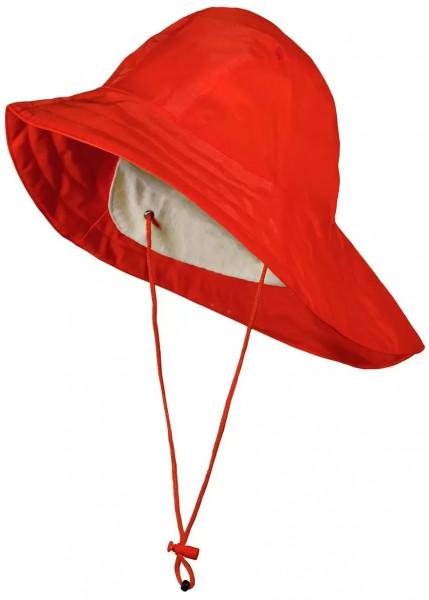 BMS Regenhut Südwester Rot