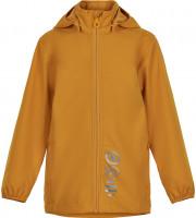 Minymo Kinder Jacke Softshell Jacket Solid Golden Orange