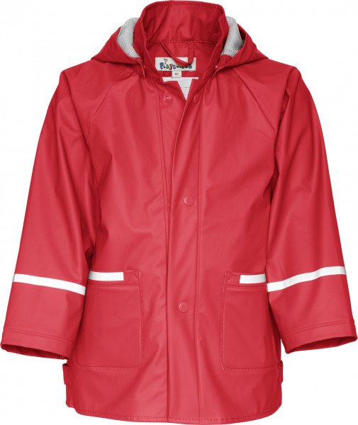 Playshoes Kinder Regenjacke Basic rot