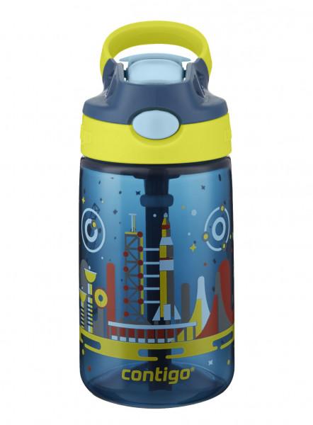 Contigo Trinkflasche Kinder Gizmo Flip Nautical with Space mit 420ML Fassungsvermögen