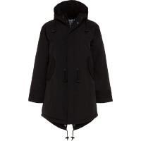 BMS HC Coat Taslan Winter Schwarz