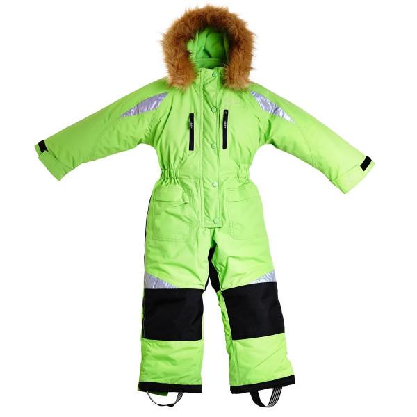 BMS Kinder Schneeanzug Taslan/Sorona Limette