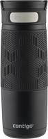 Contigo Thermobecher Transit Autoseal Matte Black mit 470 ml Fassungsvermögen