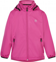 Color Kids Kinder Jacke Softshell W/Fleece, Af 8.000 Cerise Red
