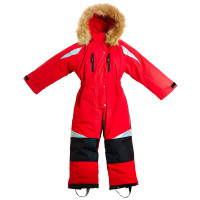 BMS Kinder Schneeanzug Taslan/Sorona Rot