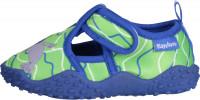 Playshoes Kinder Aqua-Schuh Robbe Blau/Grün