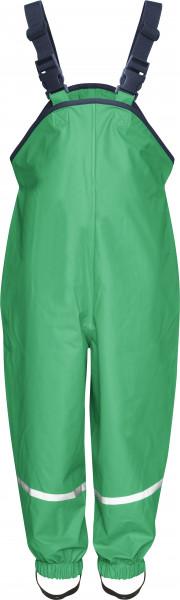 Playshoes Kinder Regenlatzhose grün