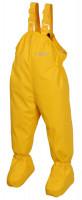BMS Kinder / Kleinkinder Regenhose Babybuddy Softskin Yellow