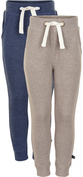 Minymo Jungen Jogginghose Basic 36 Sweat Pant (2-Pack) Ensign Blue