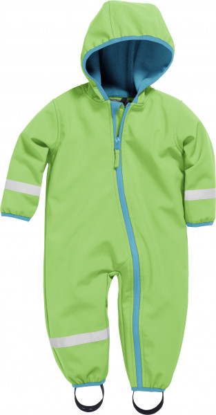 Playshoes Kinder Softshell-Overall grün