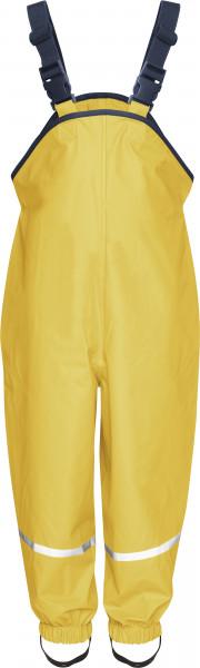 Playshoes Kinder Regenlatzhose Textilfutter gelb