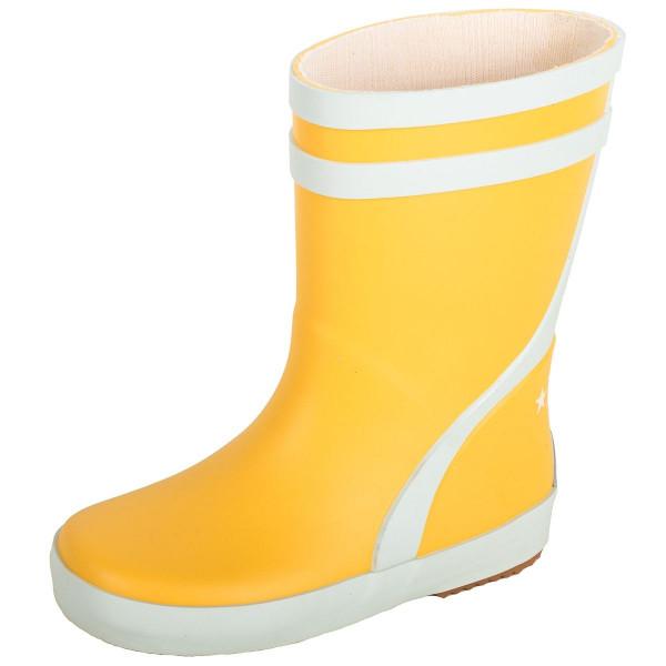 BMS Kinder Schuhe Gummistiefel Gelb