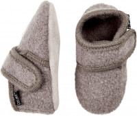 Celavi Kinder / Baby Schuhe Baby Wool Slippers Dusty Lavender Grey