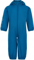 Minymo Kinder Outdoor Overall Softshell Suit Solid Dark Blue
