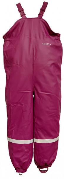 BMS Kinder Regenhose Antarctic Softskin Buddellatzhose OekoTex Purple