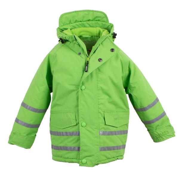 BMS Kinder Jacke Skipperjacke Kids Taslan/Sorona Limette