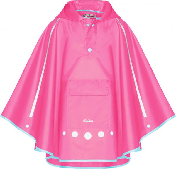 Playshoes Kinder Regenponcho faltbar pink
