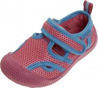 Playshoes Kinder Schuh Aqua-Sandale Pink/Türkis