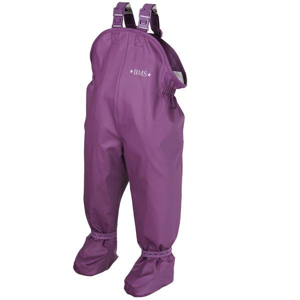 BMS Kinder / Kleinkinder Regenhose Babybuddy Softskin Purple