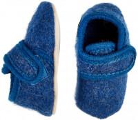 Celavi Kinder / Baby Schuhe Baby Wool Slippers Blue Melange