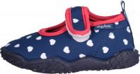 Playshoes Kinder Aqua-Schuh Herzchen Marine