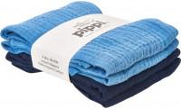 Pippi Baybwear Kinder Windeln Organic Cloth Muslin (4-Pack) 65x65 cm Dress Blues