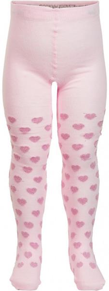 Minymo Mädchen Strümpfe Baby Stocking W. Pattern Light Rose