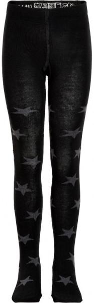 Minymo Kinder Strümpfe Stocking W. Pattern Black