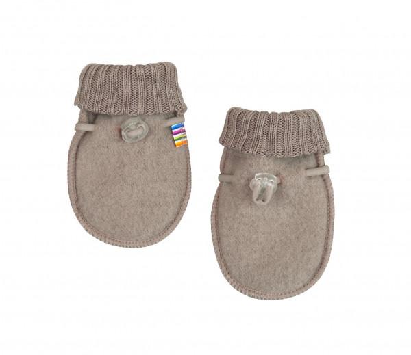 Joha Kinder Baby Handschuhe aus 100% Wolle Sesame Melange
