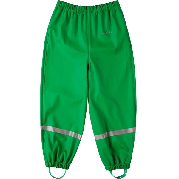 BMS Kinder Regenhose Softskin Buddelbundhose OekoTex Grün