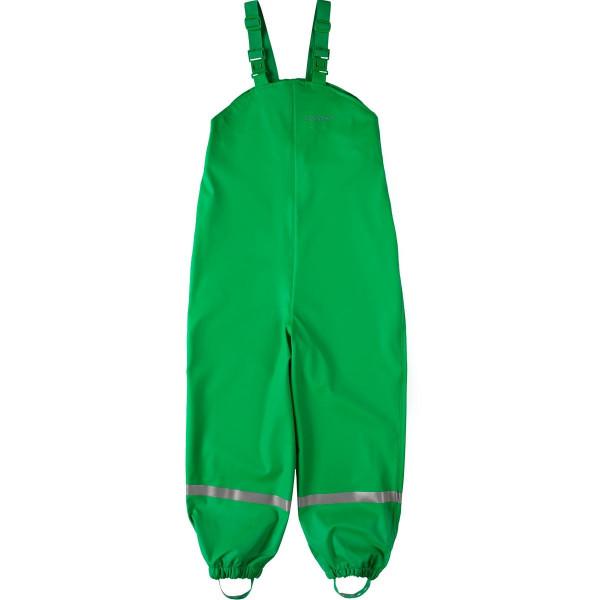 BMS Kinder Regenhose Softskin Buddellatzhose OekoTex Grün