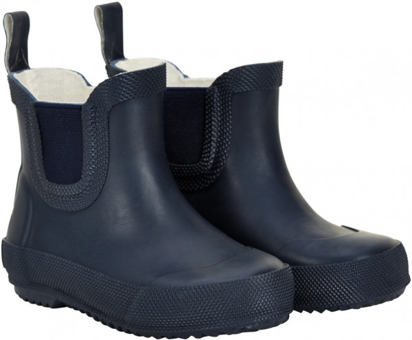 Celavi Kinder Gummistiefel kurz Basic Wellies Short Solid Dark Navy