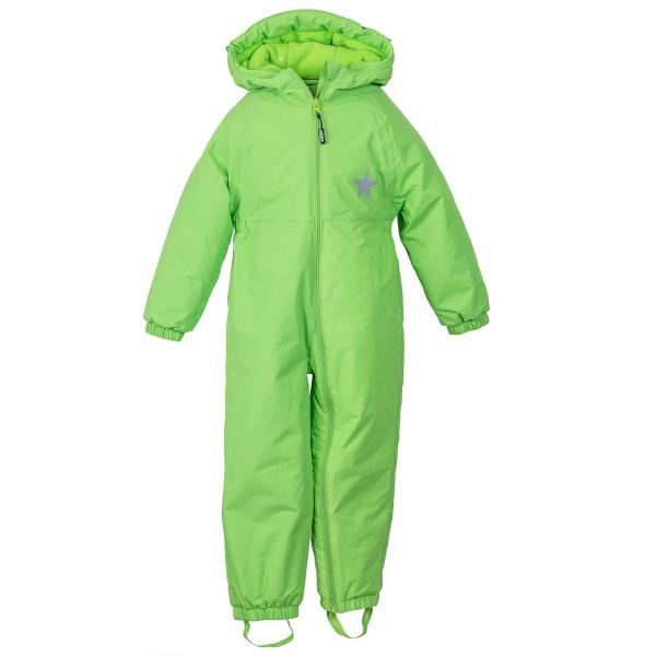 BMS Kinder / Kleinkinder Schneeanzug Babytodd's Softlan Sorona Limette
