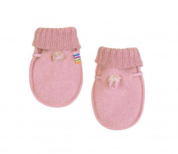 Joha Kinder Baby Handschuhe aus 100% Wolle Old Rose