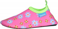 Playshoes Kinder Barfuß-Schuh Blumen Pink