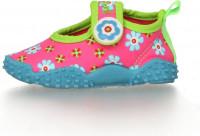 Playshoes Kinder Aqua-Schuh Blumen Pink