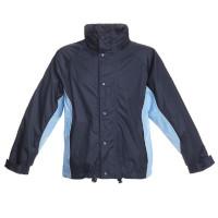 BMS Cor Comfort Sports Jacke Marine + Hellblau