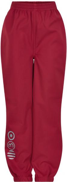 Minymo Kinder Hose Softshell Pants Solid Deep Claret Red