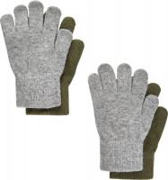 CeLaVi Kinder Handschuh Magic Gloves (2er Pack) Military Olive