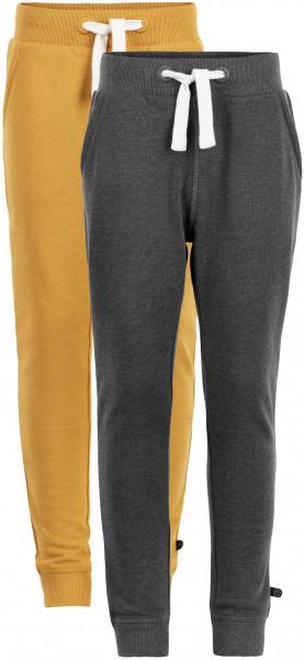 Minymo Jungen Jogginghose Basic 36 Sweat Pant (2-Pack) Narcissus