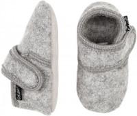 Celavi Kinder / Baby Schuhe Baby Wool Slippers Grey Melange