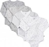 Pippi Babywear Kinder Body Wrap AO-Printed (4er Pack) Harbor Mist