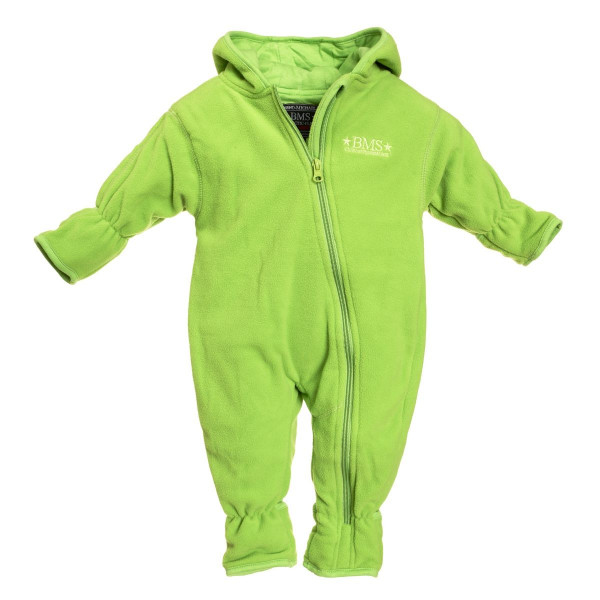 BMS Kinder / Kleinkinder Antarctic Clima-Fleece Overall Gefüttert Limette
